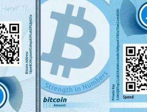 Бумажный кошелек для криптовалют